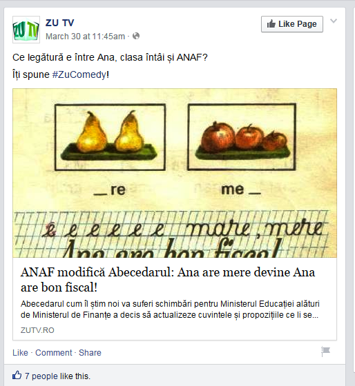 abecedar ZU Facebook